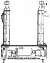 Подъемник канавный модель П-263М